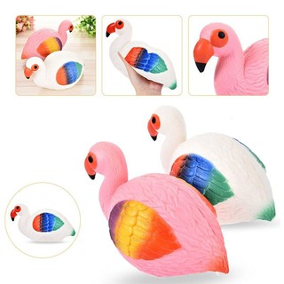 7.5 Anti Stress Flamingo Squishy Slow Rising Toy Squeeze Toys Home DIY Ornament