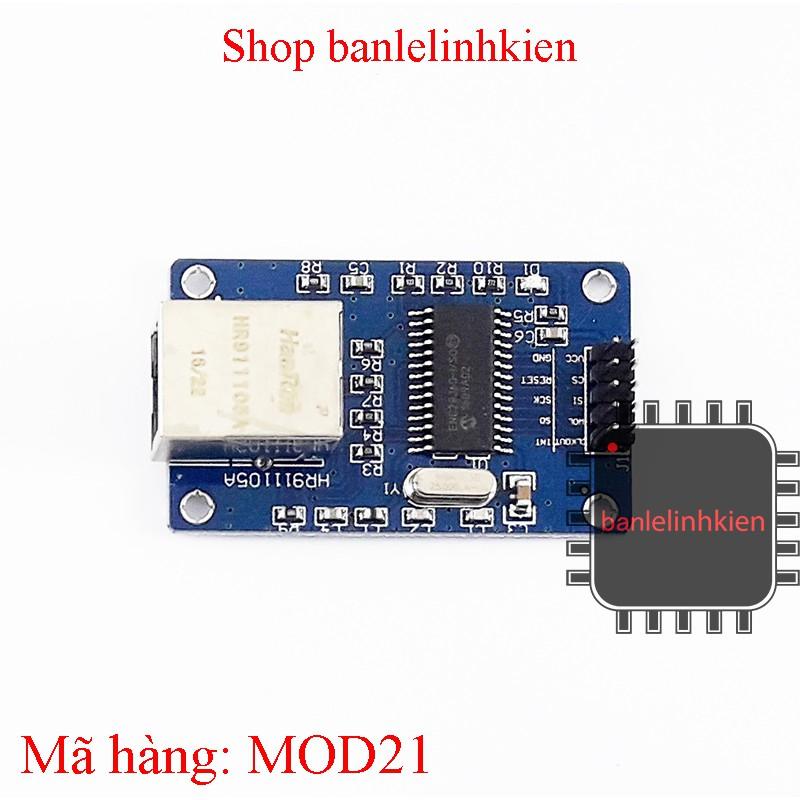 Module giao tiếp mạng LAN Ethernet ENC28J60