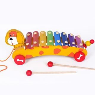 Đàn gõ 8 thanh bằng gỗ - Đồ chơi âm nhạc, Nhạc cụ, đồ chơi gỗ, đồ chơi thông minh thumbnail