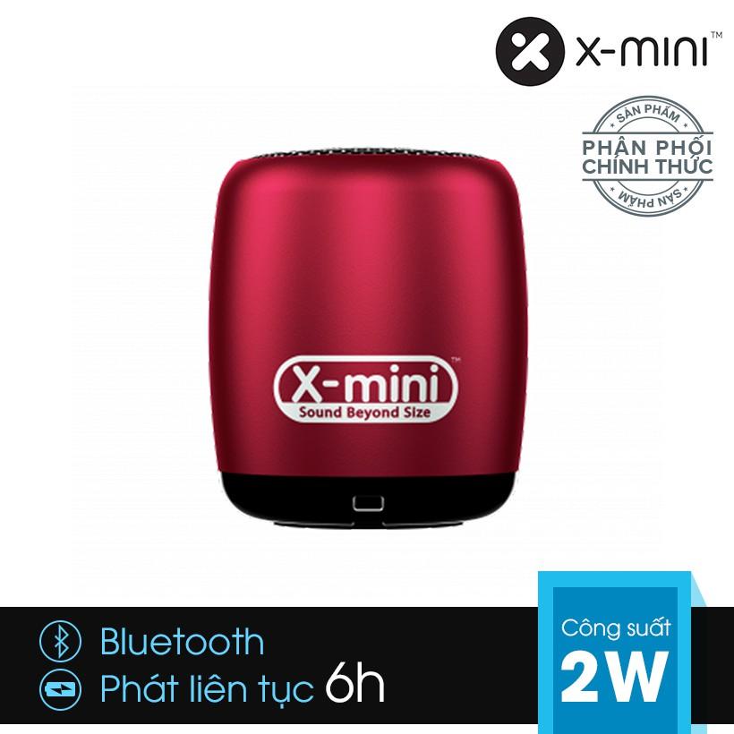 [Chính hãng] Loa Bluetooth X-mini CLICK siêu nhỏ kèm nút selfie - Đỏ