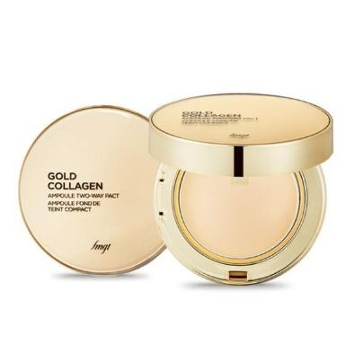 Mẫu mới] Phấn Phủ The Face Shop Gold Collagen Ampoule Two-way Pact ...