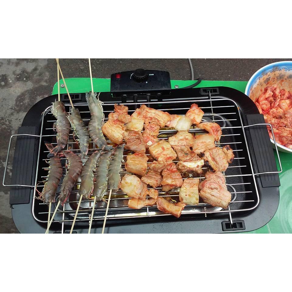 BẾP NƯỚNG KHÔNG KHÓI Electric Barbecue Grill (hàng loại 1)