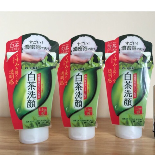 Sữa rửa mặt trà xanh Nhật Bản Rohto Shirochasou Green Tea Foam 120gr - 3054166 , 425021291 , 322_425021291 , 150000 , Sua-rua-mat-tra-xanh-Nhat-Ban-Rohto-Shirochasou-Green-Tea-Foam-120gr-322_425021291 , shopee.vn , Sữa rửa mặt trà xanh Nhật Bản Rohto Shirochasou Green Tea Foam 120gr