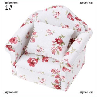 {lazy} 1:12 Mini dolls dollhouse furniture chair sofa furniture for doll house baby toy{bone}