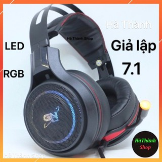 Tai nghe giả lập Gnet Gh6 7.1- ( chỉ 1 cổng USB ) rât phù hợp cho phòng game thumbnail