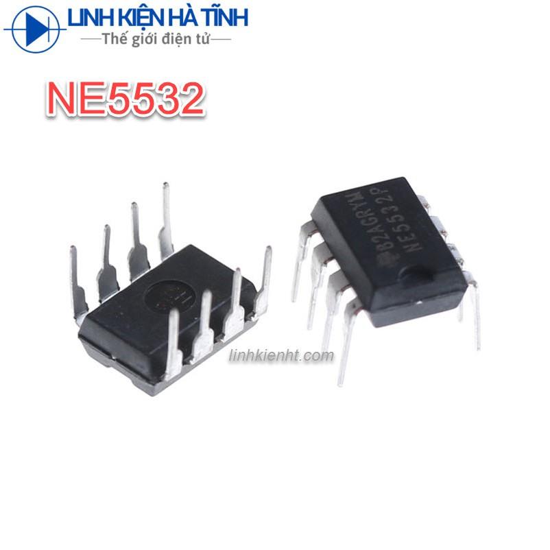 IC KHUẾCH ĐẠI NE5532P NE5532 DIP-8 CHÍNH HÃNG