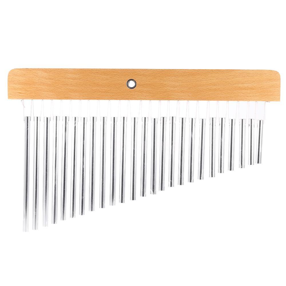🔥🔥 25-Tone Bar Chimes 25 Bars Single-row Musical Percussion Instrument
