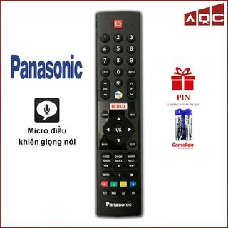 Điều khiển TV PANASONIC MICRO Có Giọng Nói Androi TV FX550V FX650V – Remote TV Panasonic Smart Micro
