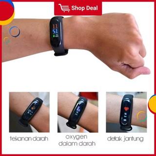 Đồng hồ thông minh kết nối Bluetooth M3 phong cách thể thao tương thích hệ điều hành Android / iOS