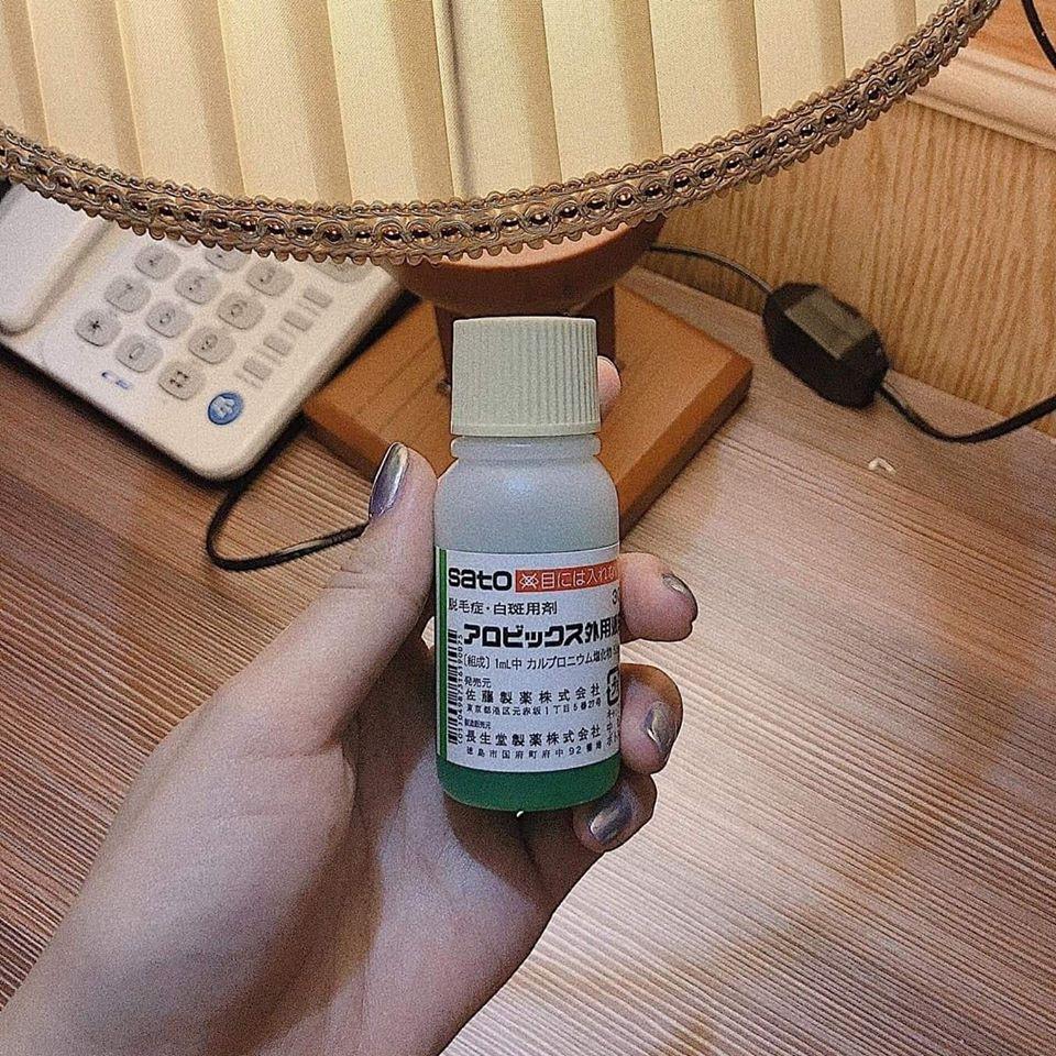 Tinh chất kích thích mọc tóc thảo dược Sato Nhật Bản