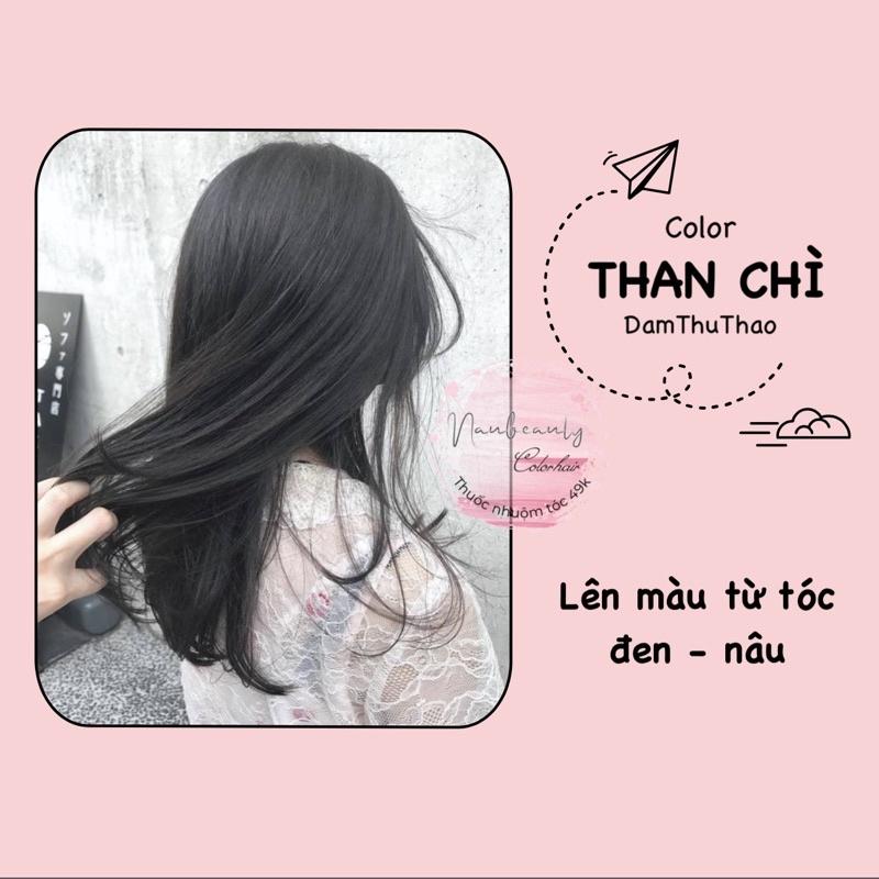 [HCM]Thuốc nhuộm tóc màu THAN CHÌ cao cấp