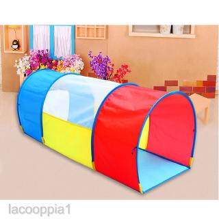 Pop up Play Tunnel Indoor & Outdoor Tube Tent for Kids Toddler Baby Children