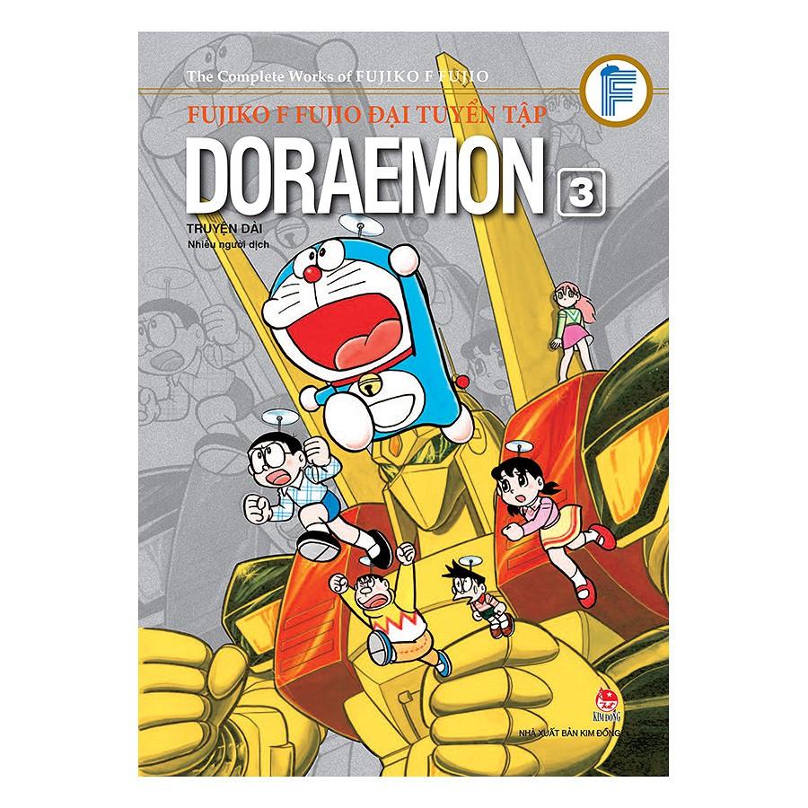 [ Sách ] Fujiko F Fujio Đại Tuyển Tập - Doraemon Truyện Dài (Tập 3)