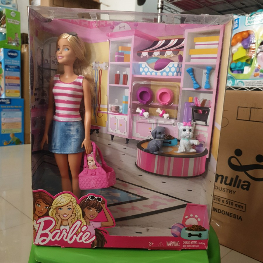 Bộ Đồ Chơi Búp Bê Barbie Xinh Xắn Đáng Yêu