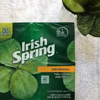Xà bông cục nguyên lốc IRISH SPRING Original, Mẫu mới (20 cục x 106.3 g)