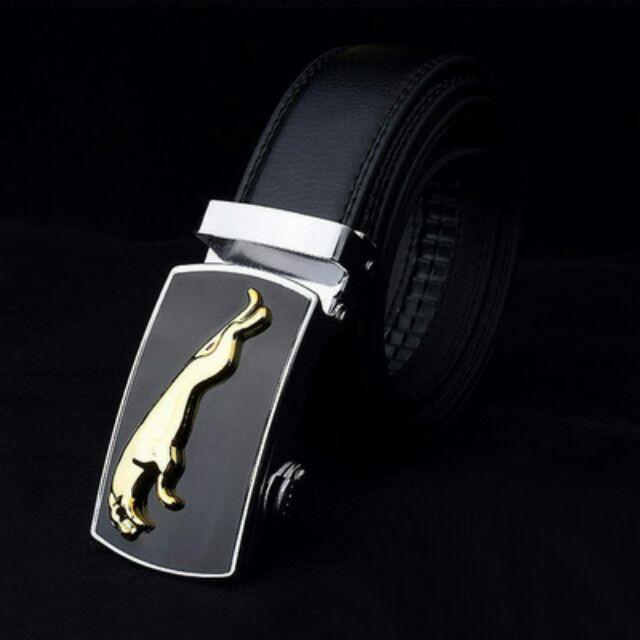 Thắt lưng da nam khóa tự động cao cấp giá rẻ   khóa bạc - Ví Nam Da Bò Thật PLAYBOY- Dây Nịt Nam ĐẸP
