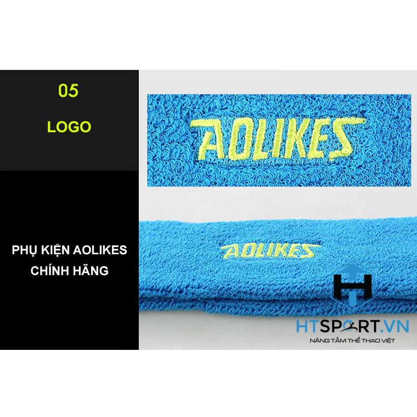 Băng Đô, Băng Trán Thể Thao Tập Gym Thể Hình Chạy Bộ Tennis Thấm Mồ Hôi Headband Aolikes AL2108