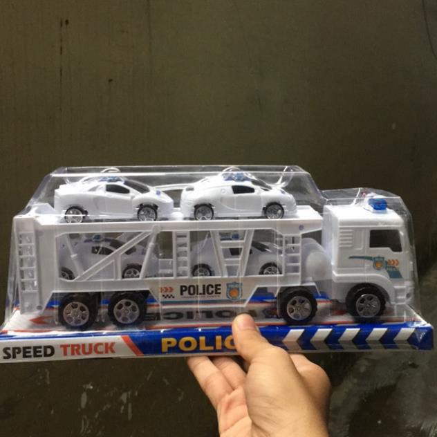 Xe cảnh sát 2 tầng cho bé