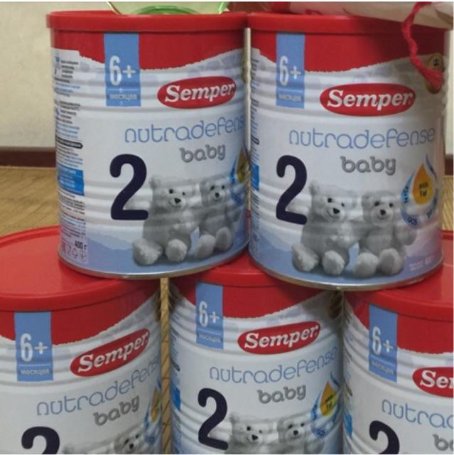 Combo 6 hộp Semper số 1-2