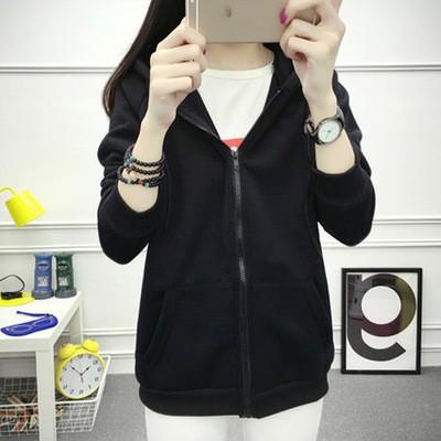 Áo hoodie nữ vải nhung dày kiểu dáng thời trang phong cách Hàn Quốc - 21999478 , 2732121459 , 322_2732121459 , 196650 , Ao-hoodie-nu-vai-nhung-day-kieu-dang-thoi-trang-phong-cach-Han-Quoc-322_2732121459 , shopee.vn , Áo hoodie nữ vải nhung dày kiểu dáng thời trang phong cách Hàn Quốc