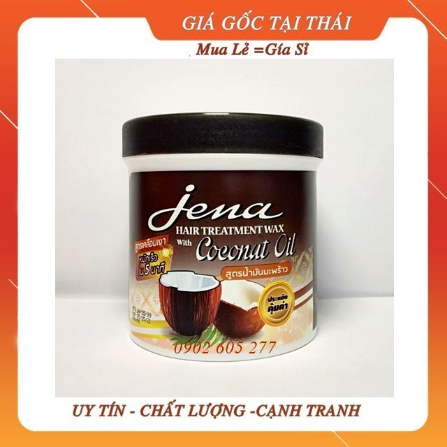 [hàng chính hãng]Kem ủ tóc Dừa Jena Thái Lan 500ml