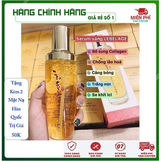 [Chính Hãng Hàn Quốc] Serum vàng 24k - Serum dưỡng trắng dưỡng ẩm tinh chất vàng 24k cao cấp Labelage Hàn Quốc 130ml