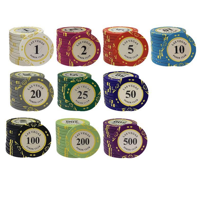Chip/ Phỉnh Poker Las Vegas cao cấp