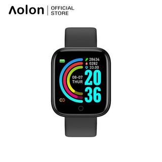 Đồng hồ thông minh Aolon Y68 chống thấm nước IP67 đo nhịp tim theo dõi sức khỏe đa năng