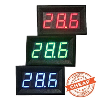 [Ready Stock] 0.56 Inch DC 0V-30.0V 3-wire Voltage Meter Head LED Digital Voltmeter with Reverse Polarity Protection