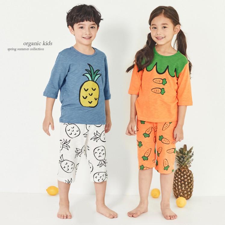 Bộ đồ lửng trẻ em Unifriend Hàn quốc cho bé trai, bé gái