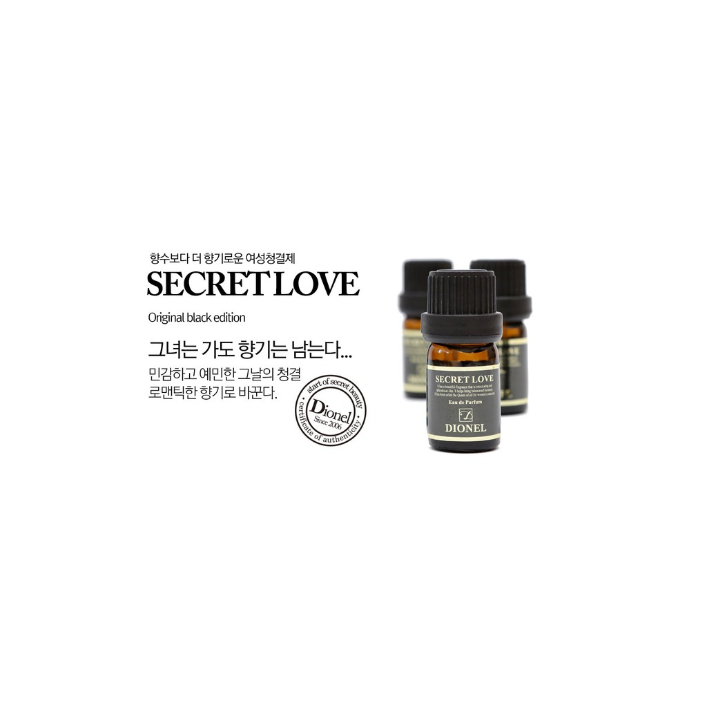 [Chuẩn Auth]Nước Hoa Vùng Kín Dionel Secret Love 5ml