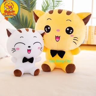 Mèo Bông Mishu cao cấp size lớn 56cm cả đuôi - Gấu Bông mèo nhồi siêu đáng yêu thumbnail