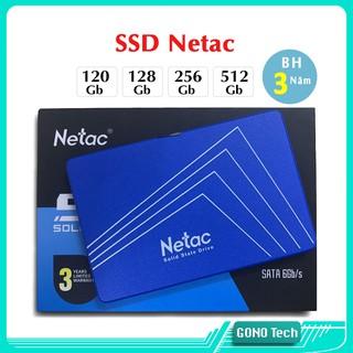 [Mã ELMSBC giảm 8% đơn 300K] Ổ cứng SSD Netac 120Gb 128Gb 240Gb 256Gb 512Gb 2.5 inch SATA 3 chính hãng | N500S N600S