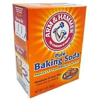 Combo 2 hộp muối Baking soda 454g USA chính hãng