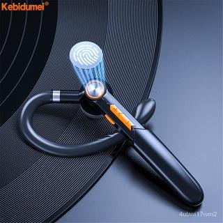 Kebidumei Tai Nghe Đơn, Tai Nghe Bluetooth 5.0 Cảm Ứng Vân Tay Tai Nghe Không Dây HIFI Rảnh Tay, Tai Nghe Chống Nước Có thumbnail