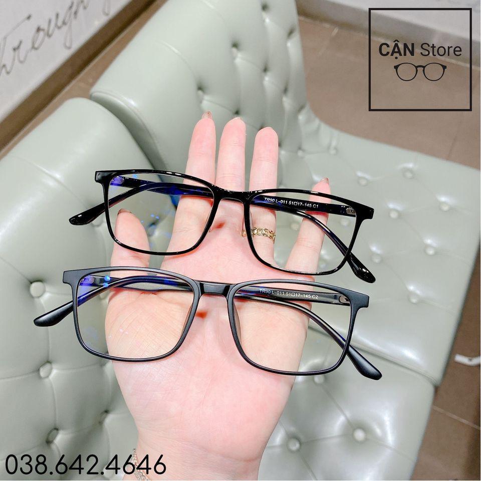Gọng kính dẻo siêu nhẹ 01 (tặng kèm hộp + khăn)