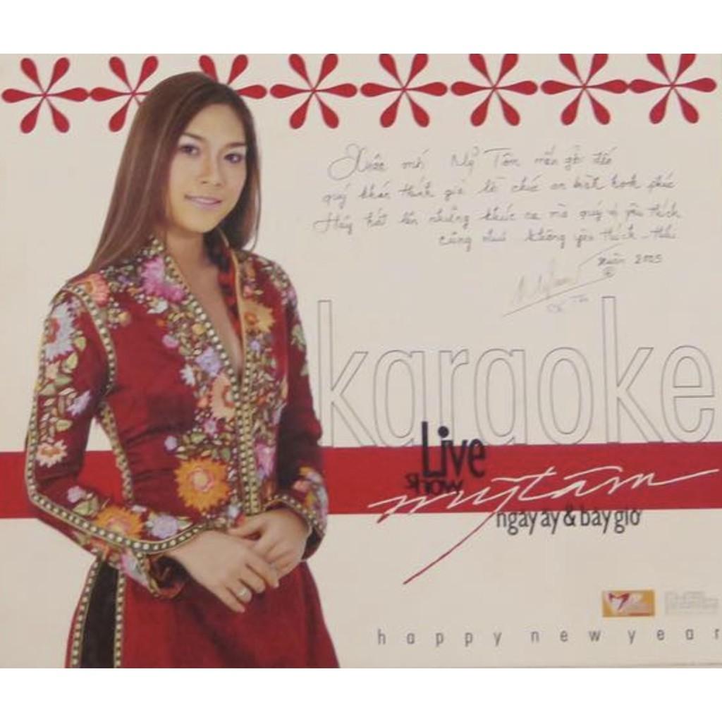 Mỹ Tâm - Liveshow Ngày Ấy & Bây Giờ Karaoke (Lịch 2005 + VCD) - 3562584 , 1290106359 , 322_1290106359 , 500000 , My-Tam-Liveshow-Ngay-Ay-Bay-Gio-Karaoke-Lich-2005-VCD-322_1290106359 , shopee.vn , Mỹ Tâm - Liveshow Ngày Ấy & Bây Giờ Karaoke (Lịch 2005 + VCD)