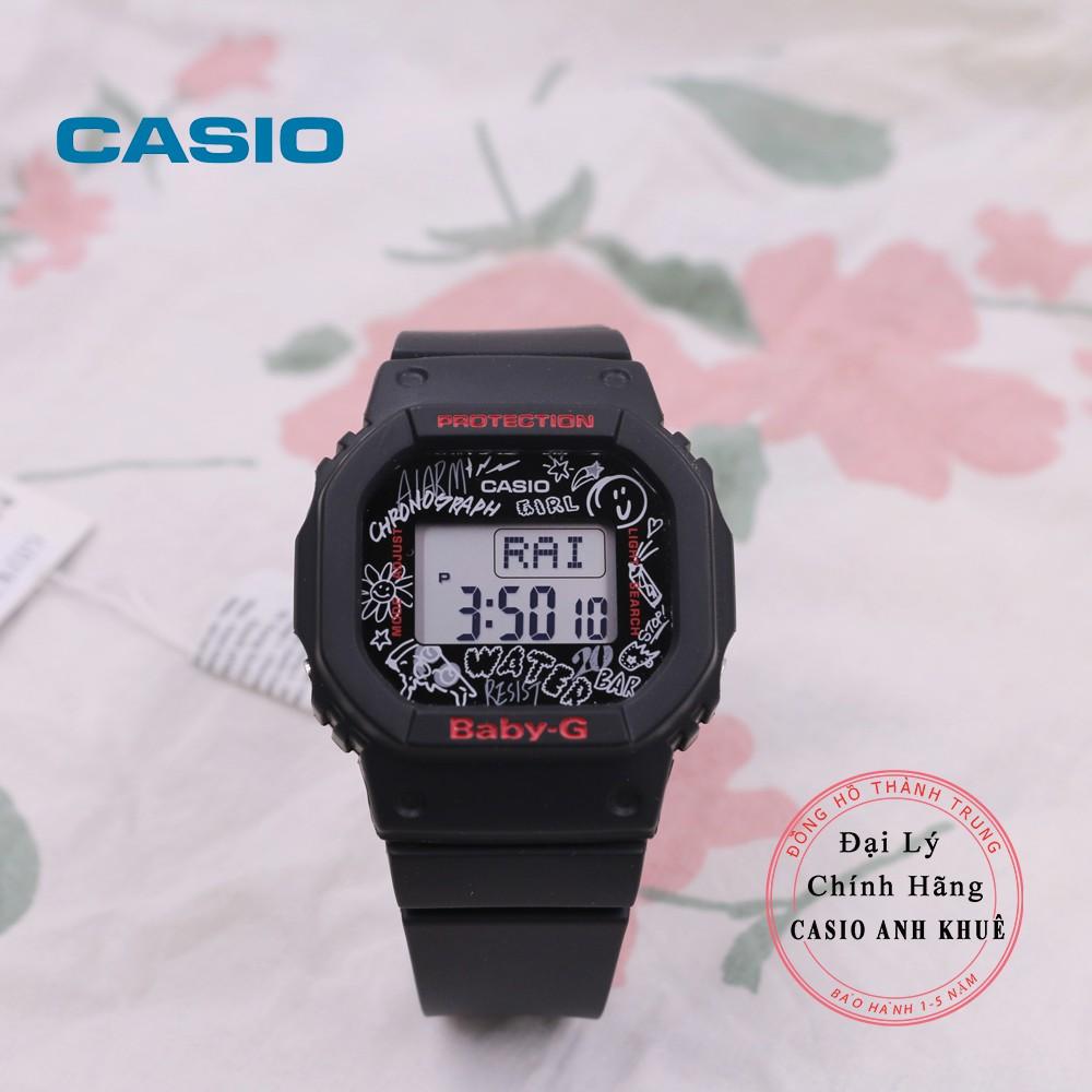 Đồng hồ nữ Casio BabyG BGD-560SK-1DR dây nhựa