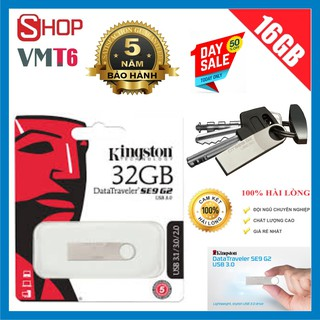 USB Kingston 32GB DataTraveler SE9 G2 tốc độ 3.0 - Bảo hành 5 năm !!!