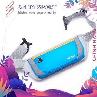 Túi đeo hông đeo bụng chạy bộ chống nước, dây đeo thoáng khí Rimix RM2202