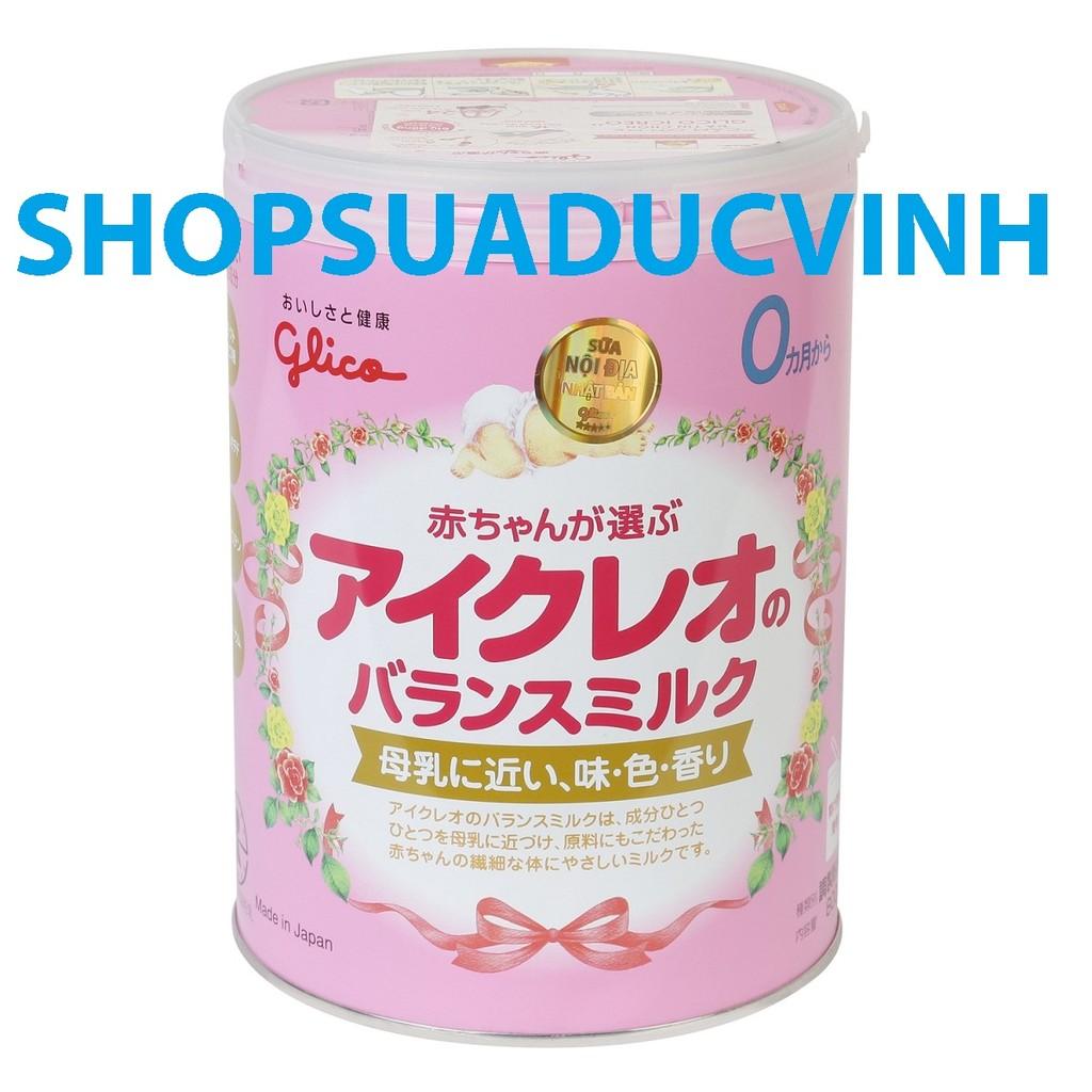 Sữa Công Thức Glico Icreo Balance Milk Số 0 800g (0-9 tháng)