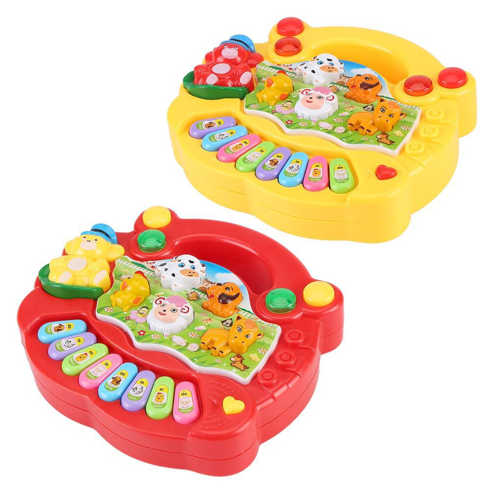 Baby Musical Educational Piano Toy Animal Farm Music Toys