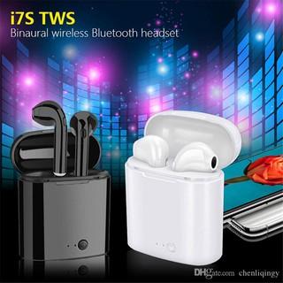 ( Miễn Phí Vận Chuyển) Tai nghe bluetooth I7S TWS âm thanh cực hay