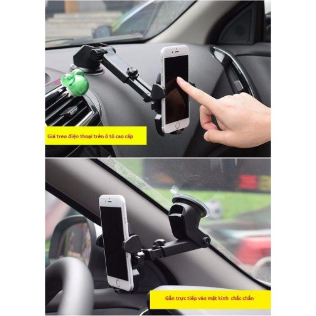 Giá treo điện thoại ,Giá đỡ điện thoại trên ô tô hút chân không