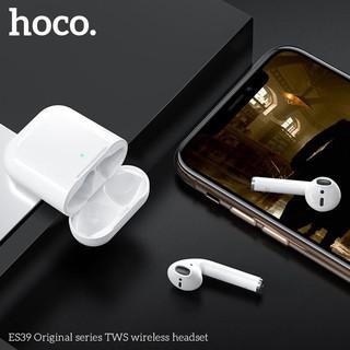 Tai nghe bluetooth Hoco ES39 định vị đổi tên hỗ trợ sạc không dây - hàng chính hãng