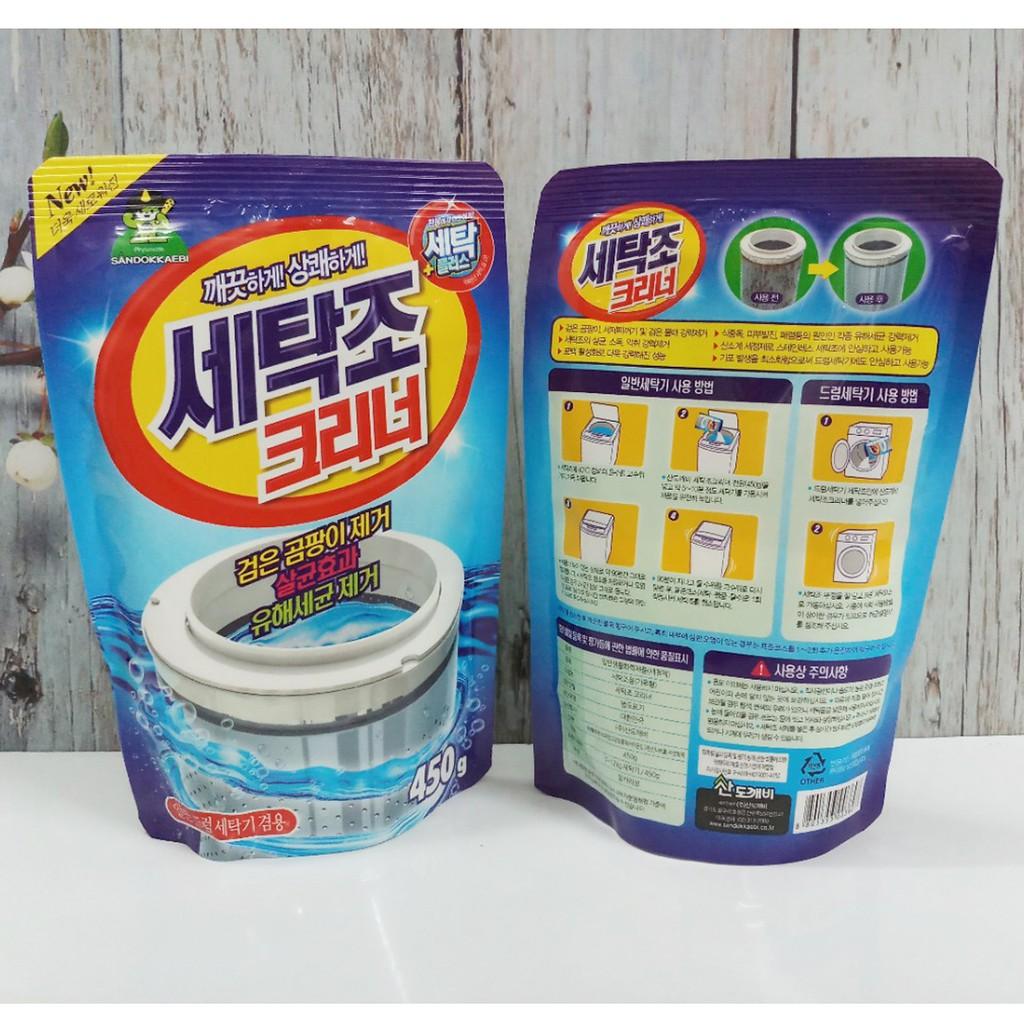 Bột vệ sinh lồng máy giặt Hàn Quốc - 2683727 , 1068004763 , 322_1068004763 , 35000 , Bot-ve-sinh-long-may-giat-Han-Quoc-322_1068004763 , shopee.vn , Bột vệ sinh lồng máy giặt Hàn Quốc