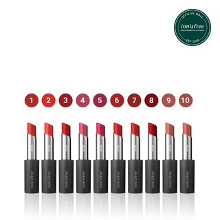 Son môi ẩm mượt innisfree Real Fit Shine Lipstick 3.3g