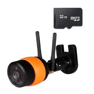 Camera IP WIFI dùng app Yoosee ngoài trời X5100 có hồng ngoại kèm thẻ nhớ MicroSD 32gb chuyên dụng MÀU NGẪU NHIÊN