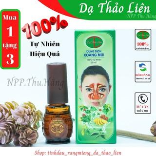 Dung dịch Xoang Mũi Dạ Thảo Liên ngăn ngừa viêm xoang cấp và mãn tính, viêm mũi, viêm mũi dị ứng, sổ mũi, tắ thumbnail