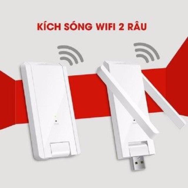 Kích sóng wifi 2 râu